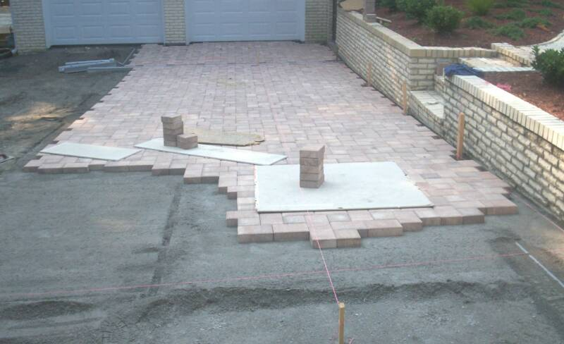 Blank for Removing concrete driveway